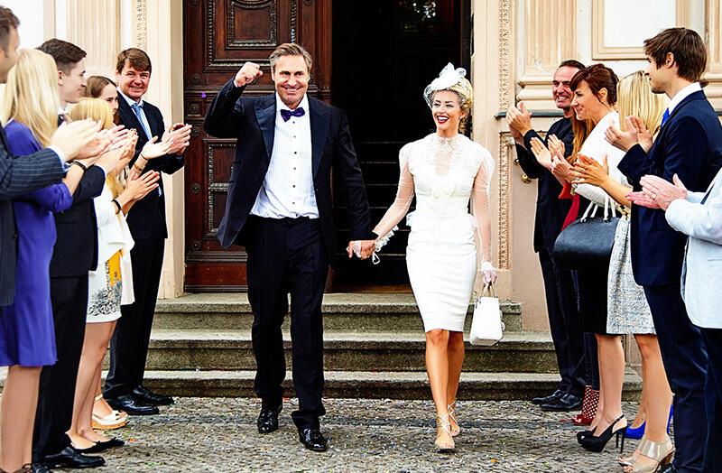Hochzeitspaar in Berlin