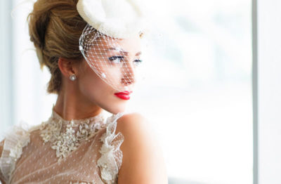 Make-Up einer Berliner Braut